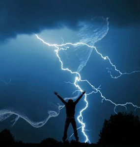praising lightning